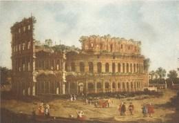 CT--N--00511-- N.1398 - IL COLOSSEO < CANALETTO > GALLERIA BORGHESE - ROMA - Pittura & Quadri