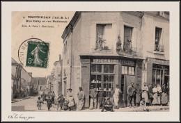 MANTHELAN - RUE GABY & RUE NATIONALE - France