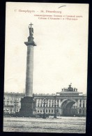 Cpa De Russie St Petersbourg Colonne D' Alexandre I  Et L' état Major    AO47 - Russie
