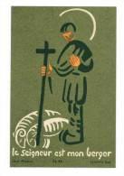 """IMAGE PIEUSE Abbaye De Jouarre N° 300  : """" Le Seigneur Est Mon Berger """" - Images Religieuses"""