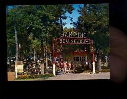 LA PALMYRE LE CLAPET  Charente Maritime 17 : Le Camping Beauséjour  Entrée  1972 - France
