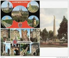 H1362 Lot De 3 Cartes LUXEMBOURG - Luxembourg - Ville