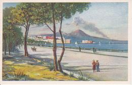 PC Napoli - Il Vesuvio Da Via Caracciolo (9800) - Napoli
