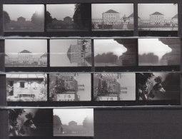 14 Kleinbilder, Foto-Kontaktabzüge, München 1962 - Orte