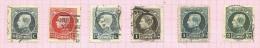 Belgique N°211 à 216 Cote 1.25 Euros - 1921-1925 Petit Montenez