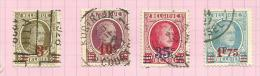 Belgique N°245 à 248 Cote 1.50 Euros - 1922-1927 Houyoux