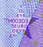Ireland ♦ 20T ♦ H003 ♦ Circulated. Pressed Duisenberg Signature - EURO