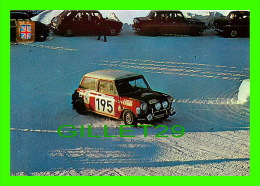 SPORTS AUTOMOBILE RALLYE SUR GLACE - No 11 - MINI COOPER 1300S 1300 C.C. 120 CV - - Rallyes
