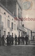 17 -  MONTENDRE - La Poste - Facteurs Velos - Telegraphes    - 2 Scans - Montendre