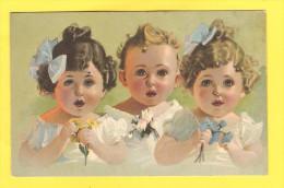 Postcard - Greetings Postcard,  Childrens  Portraits    (17182) - Portraits