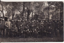 Carte Postale Photo Militaire Allemand -MAGDEBURG (Allemagne) Regiment N° 4 En 1914-Krieg - VOIR 2 SCANS - - Magdeburg