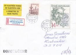 Czech Rep. / Occasional R- Label (1996/03) 696 62 Straznice: 81st World Congress Of Esperanto (I8521) - Esperanto