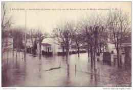 LA VARENNE - 94 - La Rue Du Succès Et La Rue St Hilaire - Inondations 1910 - Ohne Zuordnung