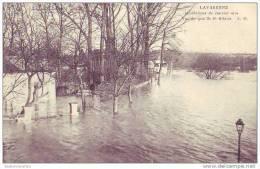LA VARENNE - 94 - Vue Du Quai De St Hilaire - Inondations 1910 - Ohne Zuordnung