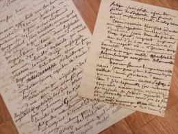 Charles BATAILLARD (1801-1881) - Historien. - PARIS Guerre 1870 Commune - AUTOGRAPHE - Autographes