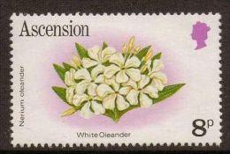 ASCENSION SG287A 1981 8p  FLOWER MNH - Ascensión