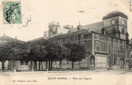 SAINT MIHIEL  Place Des Regrets - Saint Mihiel