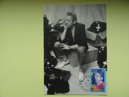CARTE MAXIMUM MAXIMUM CARD SERGE GAINSBOURG FRANCE - Zangers