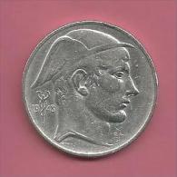 Belgique - 1948 - 50 Francs - Mercure - Argent Cuivre - Version FR - 1945-1951: Régence