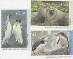 Australian Antarctic Territory-1993 Wildlife Serie II Set MNH - Unused Stamps