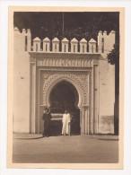 Photo Originale 180 Mm X 130 Mm - Années 50 - Tanger Maroc - Porte De La Mendoubia - Scan R/V - - Lieux