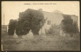 LORIGNAC Rare Ruines Du Château Bardine (Merlet-Michenot) Chte Maritime (17) - Autres Communes