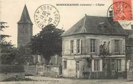 Depts Div - Calvados - Ref T768- Bonnemaison - L Eglise  - Carte Bon Etat  - - Altri Comuni