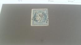 LOT 231555 TIMBRE DE FRANCE OBLITERE N�4 VALEUR 60 EUROS
