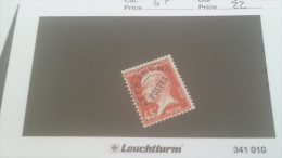 LOT 231609 TIMBRE DE FRANCE NEUF* N�67 VALEUR 22 EUROS