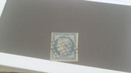LOT 231610 TIMBRE DE FRANCE OBLITERE N�4 VALEUR 60 EUROS