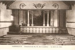 LESNEVEN  - Au PENSIONNAT ND De Lourdes - Salle Des Fêtes - Lesneven