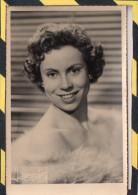 PHOTO RARE. - . JANINE RIBOT - AVEC DEDICASSE AU DOS. JBONNEFON à BORDEAUX - Famous People