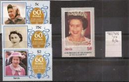 NEVIS   Série De Timbres Neufs ** 1986  (ref 995 ) - St.Kitts En Nevis ( 1983-...)