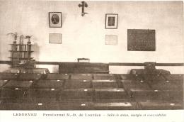 LESNEVEN  - Au PENSIONNAT ND De Lourdes - Salle De Sténo Dactylo Comptabilité - Lesneven