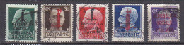 PGL CB153 - ITALIA RSI SASSONE N°491/95 - 4. 1944-45 Repubblica Sociale