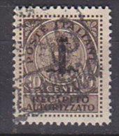 PGL CB243 - ITALIA RSI RECAPITO SASSONE N°4 - 4. 1944-45 Social Republic