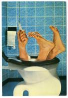 Tombé Dans Les WC - Fallen Into The Toilets (Scandecor) - Humour