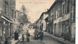 ( CPA 38 )  BEAUREPAIRE  /  Grand Chemin  - - Beaurepaire