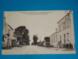 36 ) Nuret-le-ferron - Près St-gaultier - Les écoles , Route De Buzançais  - Année 1935 - EDIT - Roudier - France