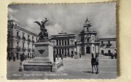 Vittoria Piazza Del Popolo E Monumento Ai Caduti Viaggiata - Ragusa
