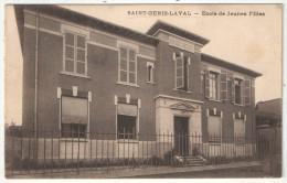 69 - SAINT-GENIS-LAVAL - Ecole De Jeunes Filles - 1929 - Altri Comuni