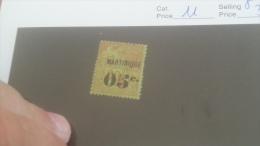 LOT 231620 TIMBRE DE COLONIE MARTINIQUE NEUF* N�11 VALEUR 32 EUROS