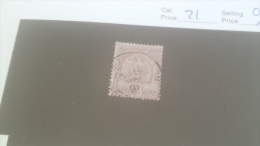 LOT 231628 TIMBRE DE COLONIE TUNISIE OBLITERE N�21 VALEUR 110 EUROS