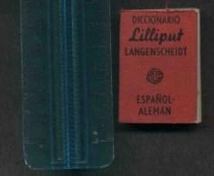 Dizionario Diccionario Lilliput Spagnolo - Tedesco - Dizionari