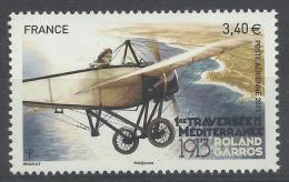 France, Roland Garros (1888-1918), French Aviator, 2013, MNH VF Airmail - 1960-.... Nuovi