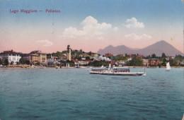 PALLANZA - LAGO MAGGIORE VG 1916  2 SCANN. AUTENTICA 100% - Verbania