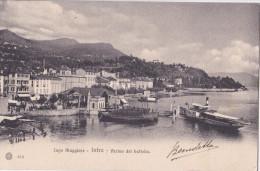 INTRA  - ARRIVO DEL BATTELLO VG 1910  2 SCANN. AUTENTICA 100% - Verbania