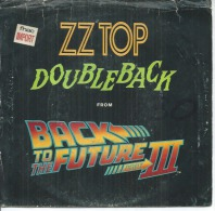 "45 Tours SP - ZZ TOP    - WB 19812  "" DOUBLEBACK "" + 1  ( U.S.A. ) - Vinyl-Schallplatten"