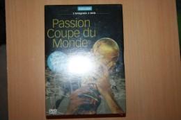 COFFRET 3 DVD PASSION COUPE DU MONDE NEUF ENCORE EMBALLER - Sport