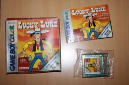 JEU GAME BOY COLOR LUCKY LUKE COMPLET - Nintendo Game Boy
